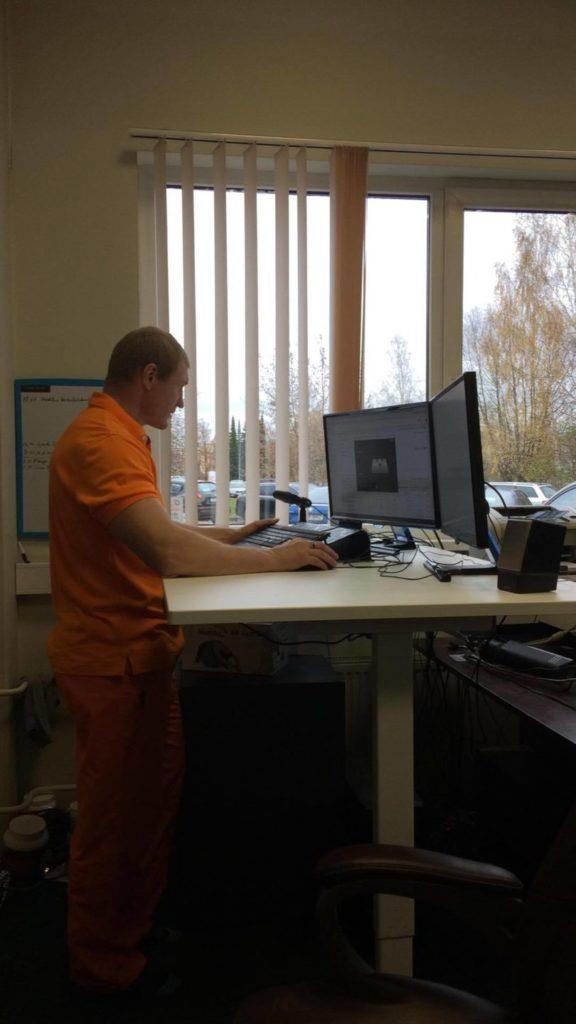 Ergoway ergonoomika salli sadultool ergonoomiline istumine kontor mugav tervislik eurerg fitlap triinusirge ergonoom